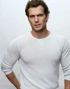 Henry Cavill - yep, superman alright!