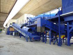 Chaîne de #tri des #déchets de #chantier Paprec Environnement IDF à Gennevilliers (Hauts de Seine-92). http://www.paprec.com/fr/comprendre-recyclage/recyclage-dechets-chantiers/tri-dechets-chantier