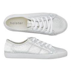holster Jetsetter sneaker - silver