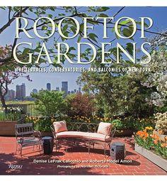 Roof top gardens in New York City