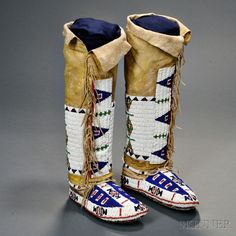 how to make fully beaded moccasins