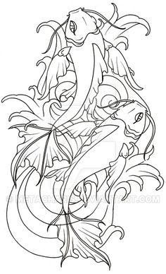 Koi Fish Tattoo by Metacharis on DeviantArt