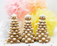 Lebkuchen Tanne Bau-Set Gingerbread Cookies, Desserts, Food, Biscuits, Pies, Powdered Sugar, Ginger Beard, Celebration, Crafting