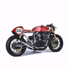 Honda 750 Cafe Racer #motorcycles #caferacer #motos | caferacerpasion.com