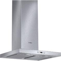 60 cm bred kraftfull, vägghängd fläktkåpa i elegant rostfri design som effektivt håller luften i köket ren från matos. BOSCH 5995/6495:- elgiganten