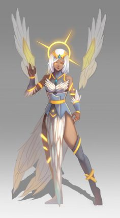 Arclight Karma skin concept by MICE-KING