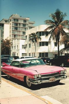 old pink cadillac , would go with my pink collection :)