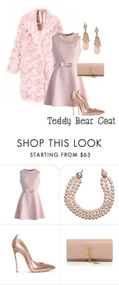 """""""Untitled #105"""" by candicegeorge ❤ liked on Polyvore featuring N°21, Chicwish, Chanel, Casadei and Yves Saint Laurent"""