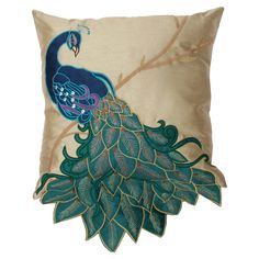 Shop for peacock at Bed Bath & Beyond. Buy top selling products like Thro Fancy Peacock Throw Pillow Collection and Courtside Market Blue Peacock Gallery Canvas Wall Art. Blue Throw Pillows, Accent Pillows, Throw Blankets, Peacock Pillow, Gold Backdrop, Applique Pillows, Peacock Colors, Peacock Decor, Peacock Design