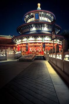 China Pavilion - World Showcase - Double click on the photo to Design & Sell a #travel guide to #China www.guidora.com