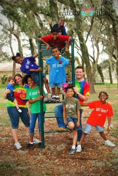 Wright family adoption - it is about serving children who need a family in the name of Christ.