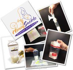 Honeysuckle Breast Milk Storage Bags Review