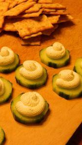 Cucumber Canape!