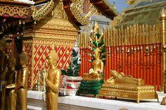 Wat Doi Suthep, Chaing Mai Thailand.