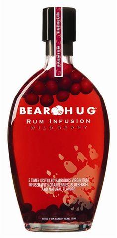 Bear Hug Rum Infusion Wild Berry (750ml)