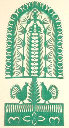 tree of life- paper sculpture