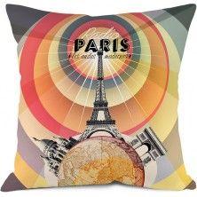 Radio Paris Cushion - Bonjour Mon Coussin - www.parisparadis.nl