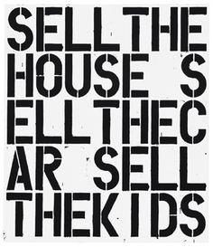 Apocalypse Now, Christopher Wool, Art Institute of Chicago, 2014 Art Blanc, Aerosoles, Stencils, Wool Art, Art Institute Of Chicago, American Artists, Art World, Apocalypse, Ideas