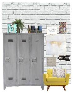 """Sin título #103"" by majo-mv on Polyvore featuring interior, interiors, interior design, hogar, home decor, interior decorating, Steel | Lark, Zentique, Wendover Art Group y Dot & Bo"