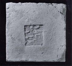 Inscribed brickUr III Date: ca. 2112–2095 B.C. Geography: Mesopotamia, Nippur Culture: Neo-Sumerian Medium: Ceramic, glaze