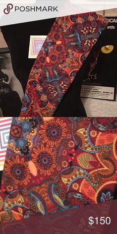 Lularoe NWT OS Leggings VERY HARD FIND! Marking not for sale if seriously interested, leave comment! LuLaRoe Other