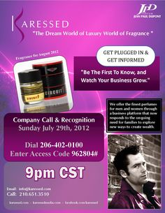 Sunday July 29th 2012, 9pm CST  Call in and then visit our site. http://www.karessed.com
