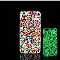 For iPhone 7 Plus Case, Glow in the Dark Datura Mandala Pattern TomCase Fluorescent Back Cover for iPhone 7 Plus Case 5.5 inch, P3 - Brought to you by Avarsha.com