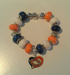 Chicago Bears Team Bling by MaraiBoutiqueandSpa on Etsy, $25.00
