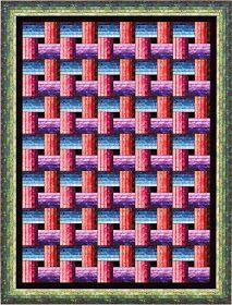 Here are 50 free patterns for lattice quilts, basket weave, interlocking rings and plaid designs! Lattice quilts are made with strips that f. Easy Quilt Patterns Free, Bed Quilt Patterns, Log Cabin Quilt Pattern, Jelly Roll Quilt Patterns, Patchwork Patterns, Free Pattern, Dress Patterns, Lattice Quilt, Bright Quilts