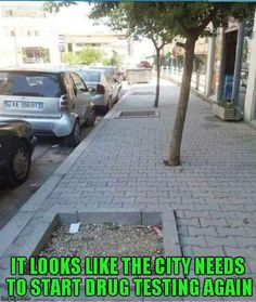 You had one job city worker…