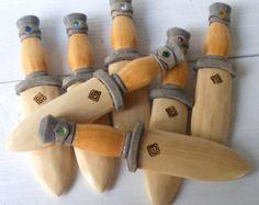 Rainbow Warrior Wooden Toy Dagger