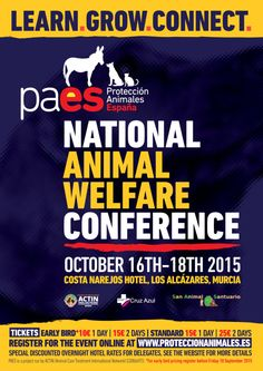 First national Animal Welfare conference in Murcia