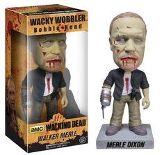 Walking Dead Zombie Walker Merle Wacky Wobbler Bobble Head