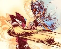 Mega Man Zero - Zero and X. The end of Zero 3 will always make me cry. You can't have a heart and NOT cry when X leaves his will in Zero's hands.