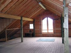 Barn Loft - Keepers Office (While Empty) - Original Image: Unknown Owner/Photographer