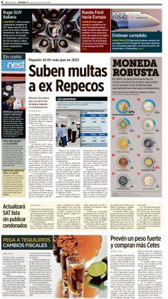 Diseño editorial, newspaper, graphic