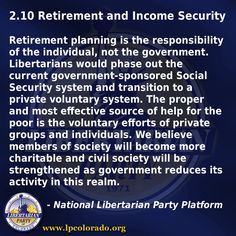 Retirement and Income Security