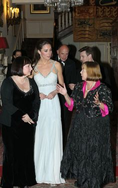 October 26, 2011 - Duchess Kate goes solo at In Kind Direct Event | Celebrity-gossip.net