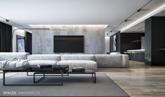 Enhance Your Senses With Luxury Home Decor Living Room Grey, Living Room Interior, Home And Living, Luxury Home Decor, Luxury Homes, Apartments In Dubai, Grey Interior Design, Minimalist Home, Luxury Living
