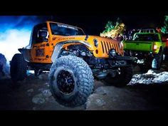 Rock Crawling Jeeps Run the Moab Midnight Mustache Ride! [Dirt Every Day Episode 9]