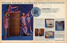 Frigidaire's Space Age fridge