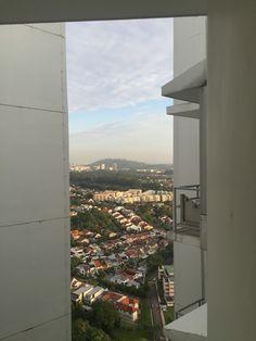 Singapore City, Airplane View