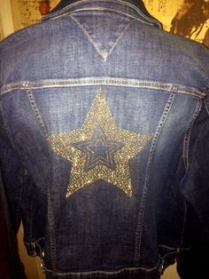 5201ee9a Tommy Hilfiger Denim Jean Jacket Jeweled Bling RARE Size XL Womens for sale  online | eBay