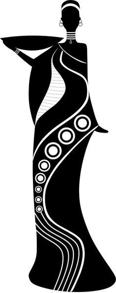 1 million+ Stunning Free Images to Use Anywhere Black Girl Art, Black Women Art, Black Art, Afrique Art, African Art Paintings, Silhouette Art, Pencil Art Drawings, Linocut Prints, Tribal Art