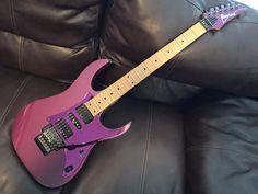 1992 Ibanez Rg550 Purple Neon