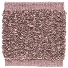 Kasthall Rita Hand Woven Chenille Wool Rug Color: Rose