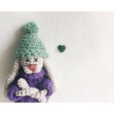 Handmade crochet bunny rabbit от ZoZooCrochet на Etsy