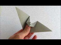 ▶ Origami Flapping Bat - Halloween è vicino....da provare