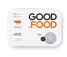 Good Food #Identity, #branding and #packaging. Healthy food brand in Monterey, Mexico. Designed by Face