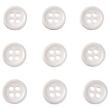 500Pcs 10mm 4 holes White Resin Round Buttons Decor Sewing Clothing Sewing Scrapbooking Crafts DIY Accessories Buttons(China) Round Button, Diy Accessories, Sewing Clothes, Resin, Scrapbooking, Buttons, Diy Crafts, China, Clothing